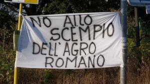 No allo scempio dell'Agro Romano-2