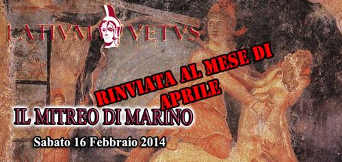 Header Volantino Mitreo di Marino 2
