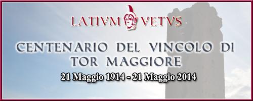 Header Centenario Tor Maggiore