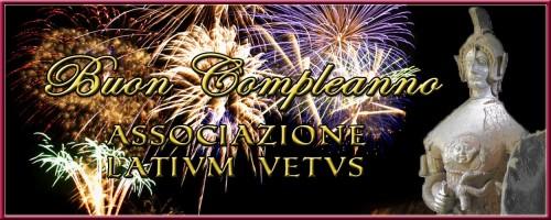 Buon Compleanno Latium Vetus