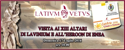 Header XIII Altari Estate 2016