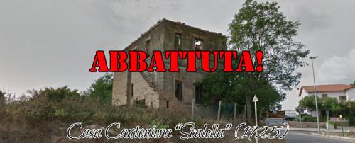 Demolita la cantoniera 'Scalella', lo sdegno di Associazione Latium Vetus