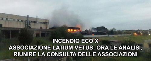 Incendio Eco X: ora analisi approfondite, riunire la consulta