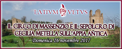 Header visita guidata Circo Massenzio | Associazione Latium Vetus