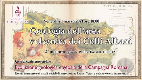 2° Incontro – Geologia dell'area vulcanica dei Colli Albani
