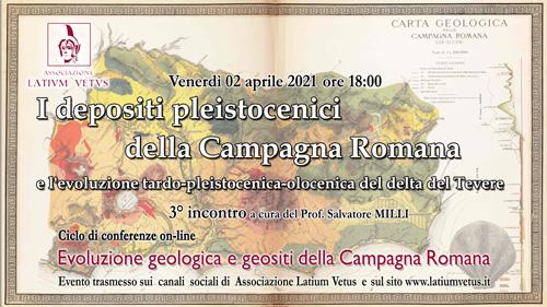 3° Incontro – I depositi pleistocenici della Campagna Romana