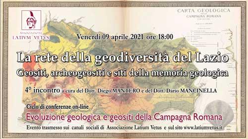 4° Incontro – La rete della geodiversità del Lazio