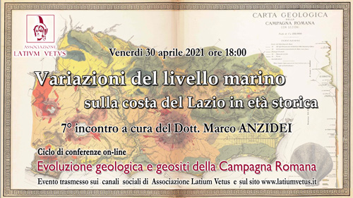 7° Incontro – Variazioni del livello marino sulla costa del Lazio in età storica