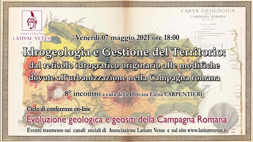 8° Incontro – Idrogeologia della Campagna Romana e Gestione del Territorio