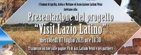 Presentazione del progetto 'Visit Lazio Latino'