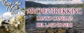 Archeotrekking geologico lungo l'anello del Lago di Nemi