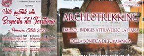 Archeotrekking dal Sol Indiges attraverso la piana della bonifica di Torvajanica
