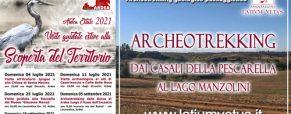 Archeotrekking dai casali della Pescarella al lago Manzolini